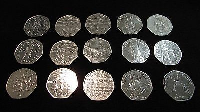 50p - Fifty Pence Pieces - GB Coin Hunt - Various - Free P&P