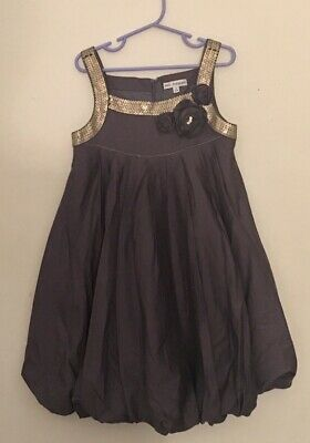 Marks & Spencer autograph Girls Grey Dress 8 Years
