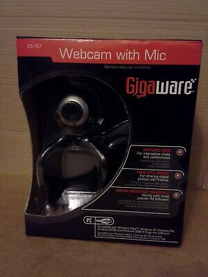 GIGAWARE PC CAMERA WITH MIC 25-157 WINDOWS 10 DRIVERS DOWNLOAD