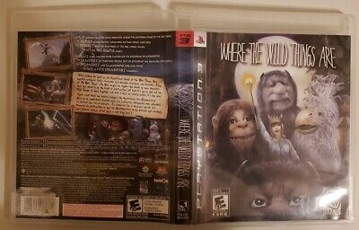 Where the Wild Things Are (Sony PlayStation 3) PS3 CIB, TESTED & FREE SHIPPING