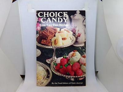 Vintage 1971 Cookbook Choice Candy From Your Own kitchen Farm Journal