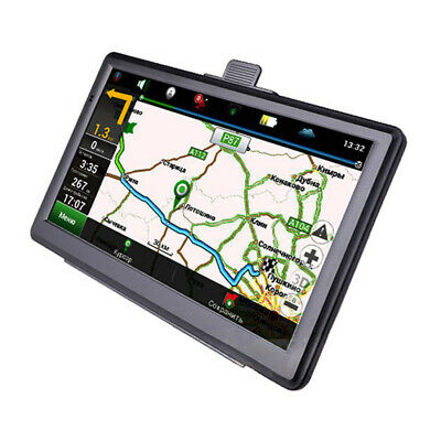 "7"" SAT NAV 8GB Car Truck HGV LGV GPS Navigation UK EU Lifetime Map POI System"