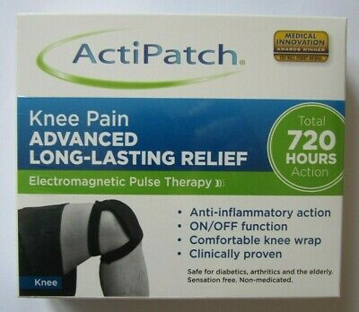 Actipatch Electomagnetic Pulse Therapy Knee Pain 720 Hours Sealed Freepost
