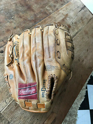 Rawlings Leather Baseball Glove Catching Mitt Adult Left Hand Catch