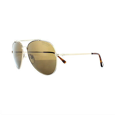 e742ece135 TOM FORD SUNGLASSES 0497 Indiana 28H Shiny Rose Gold Brown Polarized ...