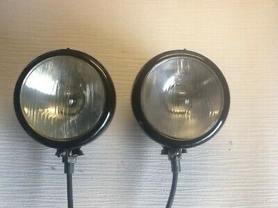 Genuine Butler Deep Dish Headlights For David Brown Tractors ,Land Rovers ?
