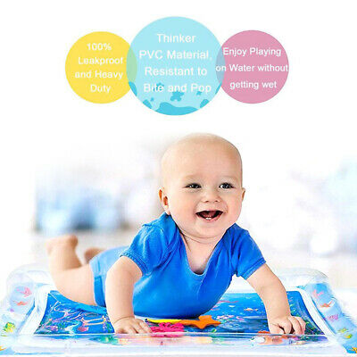 Hot Inflatable Water Play Mat Infants Baby Toddlers Kid Perfect Fun Tummy Time
