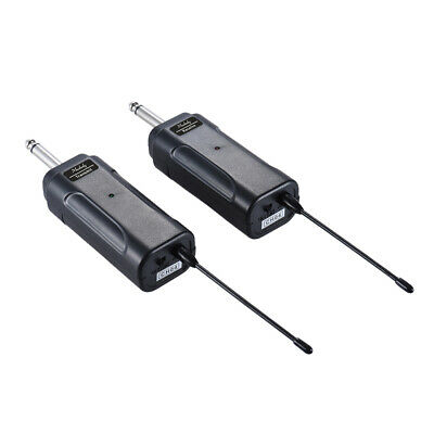 Portable Wireless Audio Transmitter Receiver System for Electric Guitar J7H0