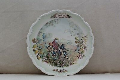 Vintage Royal Albert 'The Wind in the Willows' Autumn in the Wild Wood Plate