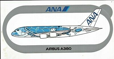 EXCLU !!! A380 ANA All Nippon Airways Turtle - NOUVEAU !!! STICKER AIRBUS