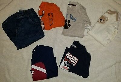 6 Piece Lot of Baby Boy Clothes 12-18/18-24 Months SHIPS TODAY