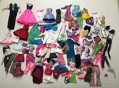 Barbie Lot of Clothes Mixed Vintage and Contemporary
