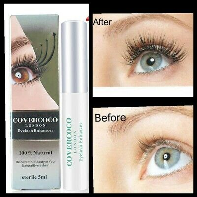 7 Days Eyelash Enhancer Eye Lash Rapid Repair Oil Growth Serum Liquid 5ml