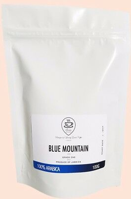 Blue Mountain Coffee Jamaica 100% Certified Pure Beans Roasted To Order Bespoke