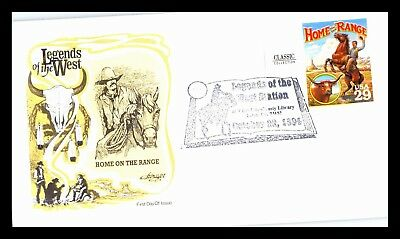 OAS-CNY 2245 FDC SCOTT 2869a 1994 29c Home on The Range FREE COMBINED SHIPPING