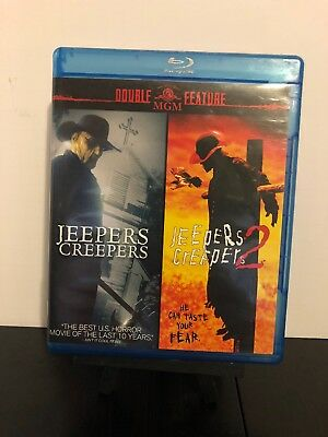JEEPERS CREEPERS 1 + 2 Blu-ray Double Feature