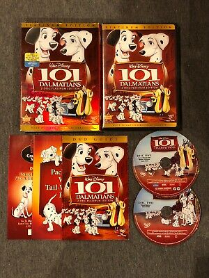 Walt Disney 101 Dalmatians 2 - Disc Platinum Edition Fast Play NTSC W/ Slip