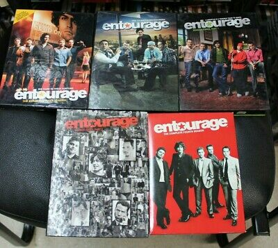 Entourage DVD Sets Complete Seasons 1, 2, 3,4 (One/Two/Three/Four)Kevin Connolly