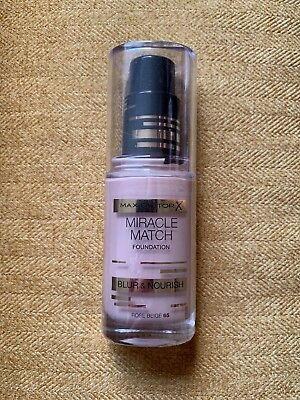 Max Factor Miracle Match Foundation Blur & Nourish Rose Beige 65