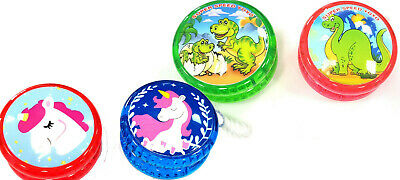 Pack Of 2 Yoyo Magic Spinner Trick Kids Game Wheel Auto Light Up/Clutch Trick