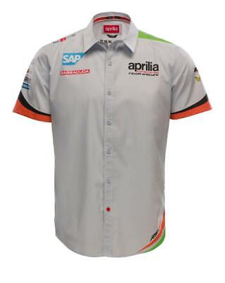 SHIRT MotoGP Bike Aprilia Racing Team Gresini Motorcycle Raceshirt NEW!