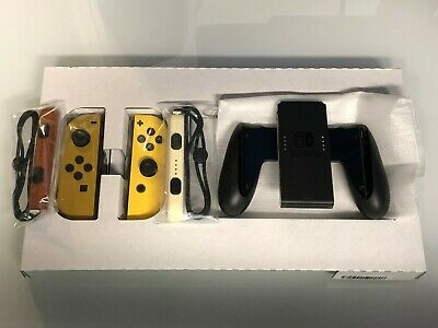 🔥Nintendo Switch Joy-Cons Only- Pokemon Lets Go Pikachu Edition 🔥