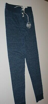 New Justice Girls 12 Year Navy Blue Jogger Sweatpants Pants Logo Tie Front