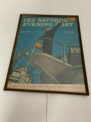 Saturday Evening Post May 17, 1941 Framed Poster