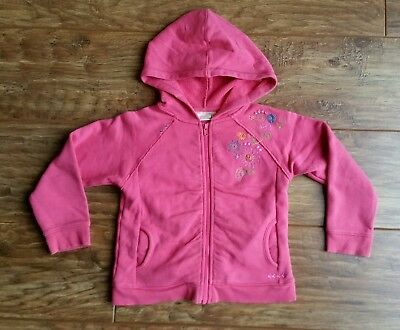 New Look Girl's Pink Hoodie (3 - 4 yrs) - Very Good Condition