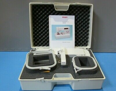 PFAFF Creative Fantasy Embroidery Unit for 7570 with Accesories and Hard Case +