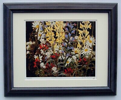 """Tom Thomson, Group of Seven """"Wildflowers"""" Limited Edition print with frame"""