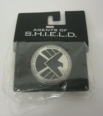 NEW Bioworld Marvel AGENTS OF SHIELD Phil Coulson Badge Wallet SEALED NIP