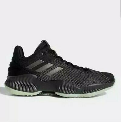 3b60af54f Adidas Pro Bounce 2018 Low Basketball Shoes Black Carbon B41864 mens sz 15