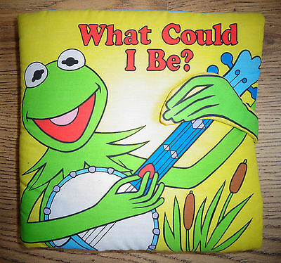 Muppets What could I be? 1998 Soft children book - Main feature: Kermit the Frog