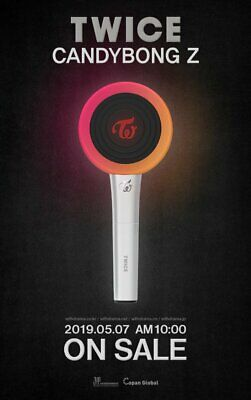 TWICE - TWICE [CANDY BONG Z] OFFICIAL LIGHT STICK Ver 2 [IN STOCK]