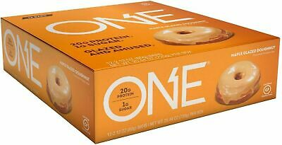 ONE Protein Bar  -  Maple Glazed Doughnut -  12 Bars