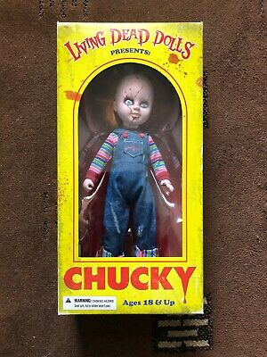 Chucky Fig New Fashion Chucky Puppe Von Mezco Toys Seltene Version Inkl Verpackung.puppet