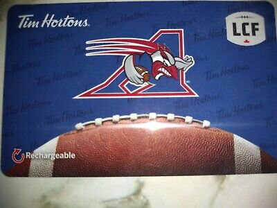 Collectable Tim Hortons Allouettes Gift Card #Fd57202 ..No Monatary Value