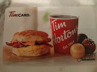 Collectable Tim Hortons Breakfast Sandwich Gift Card #Fd55337..No Monatary Value