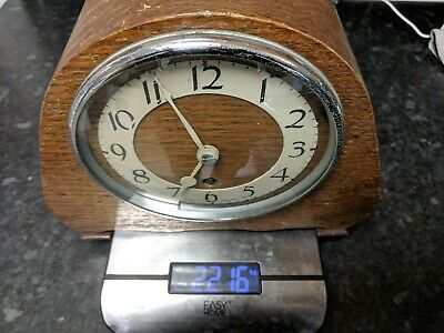 Vintage Mantle Clock Working Order Suspension Arm Needs Attention,With Key