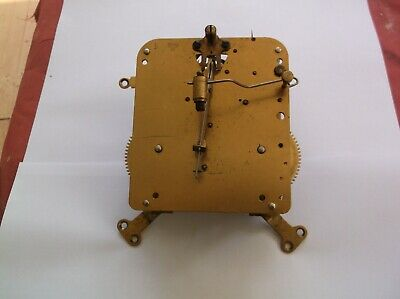 Mechanism  From An Old  Mantle Clock Working Order Ref Pa 10