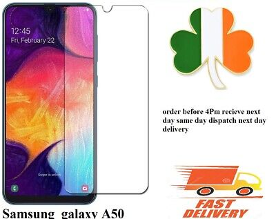 Samsung Galaxy A50 Tempered Glass Mobile Phone Screen Protector