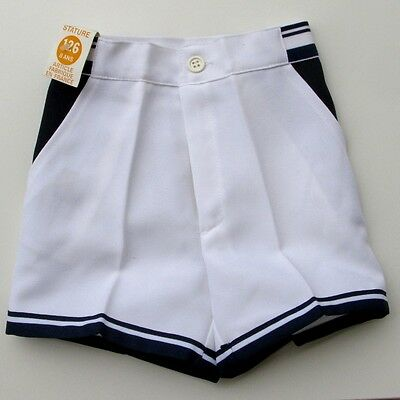 Shorts Child Tennis - Vintage Authentic - 8 Years - Blue - Mint