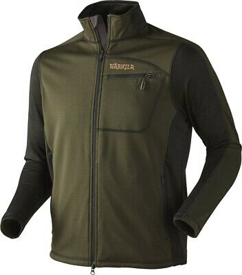 Harkila Vestmar Hybrid Fleece Rifle Green Melange