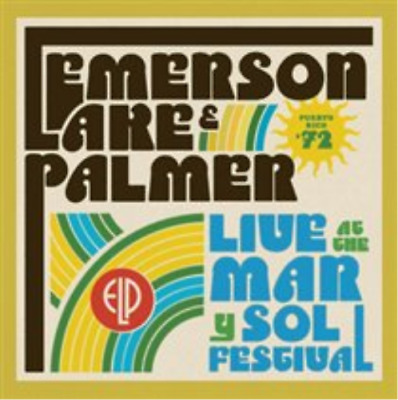 Emerson, Lake & Palmer-Live at the Mar Y Sol Festival '72 (UK IMPORT) CD NEW