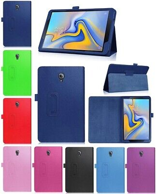"""Leather Flip Folio Case Stand Cover For Samsung Galaxy Tab A 10.5"""" SM-T590 T595"""