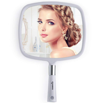 Easehold Hand Held Mirror, Wall Hanging Makeup Hair Dressing for Home Salon Use,