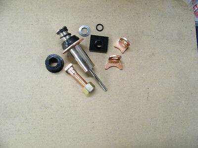 STARTER SOLENOID  REPAIR KIT, CONTACTS, PLUNGER, HARDWARE For DODGE CUMMINS P/U