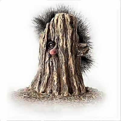 Troll Nyform 051 Boy In Un Tronco Originale Collezione Norvegese Portafortuna