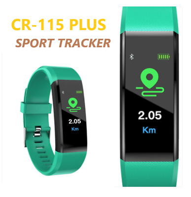 Orologio Cr15 Plus Smartwatch Cardiofrequenzimetro Da Polso Bluetooth Fitness